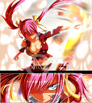 Sherria/Chelia Third origin Fairy Tail 476