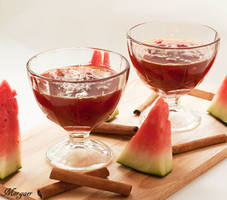 Watermelon jam with cinnamon by Morgaer