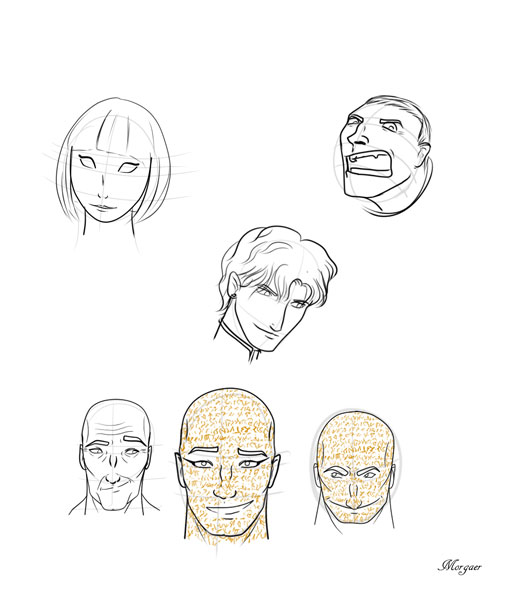 Sketches by Morgaer