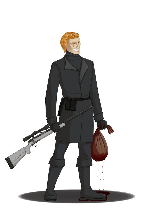 Challenge concept art - Mercenary by Morgaer