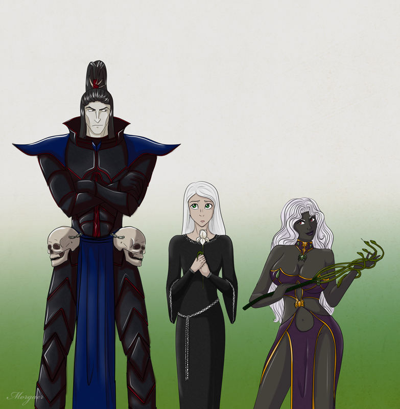 A little bit about dark elves by Morgaer