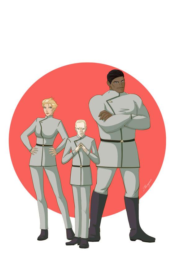 The agents of Ministorum - Ravenor by Morgaer