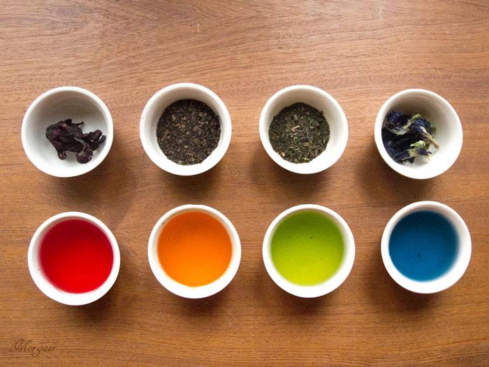 как пить синий чай из тайланда