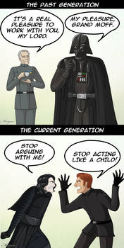 Dark Side generations