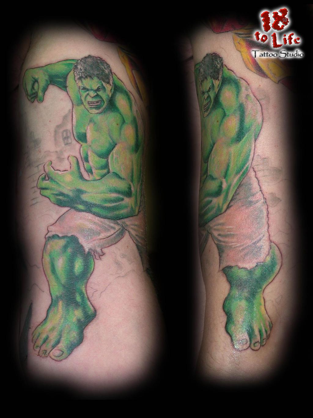 pin hulk arte tattoo fotos e ideias para tatuagens on pinterest. Black Bedroom Furniture Sets. Home Design Ideas