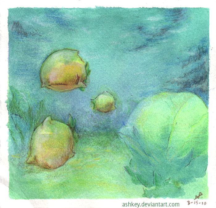 Natural lemon habitat by ashkey
