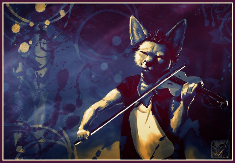 Violin by ashkey