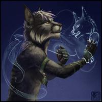 Spirit Lynx by ashkey