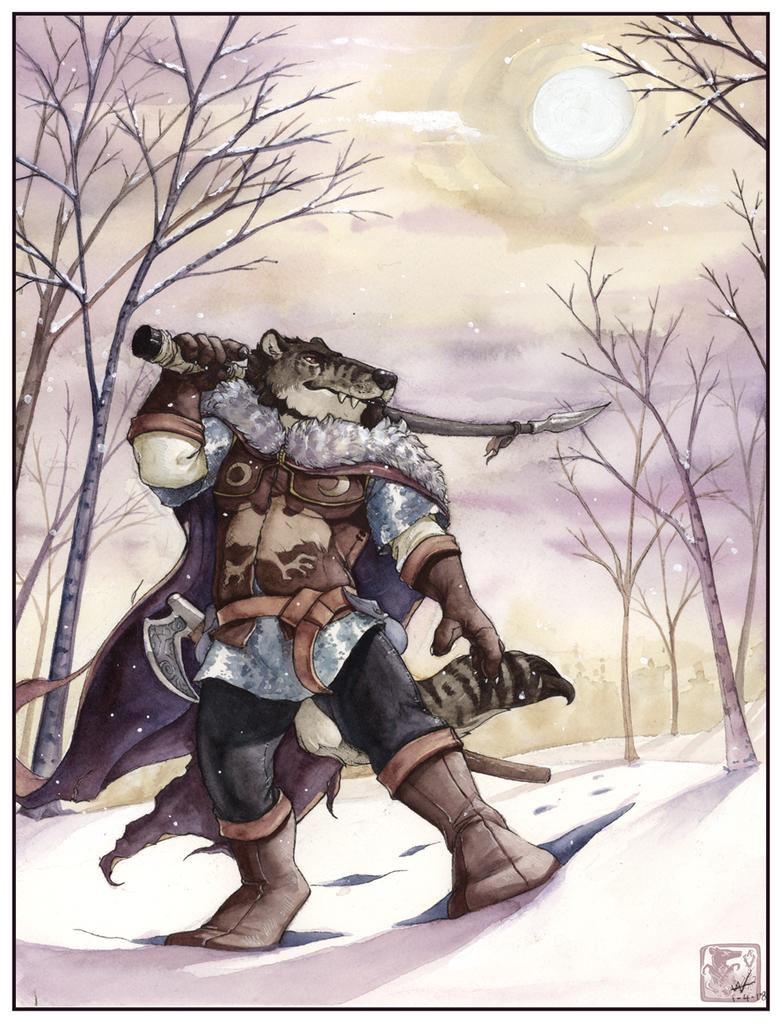Winter Trek by ashkey