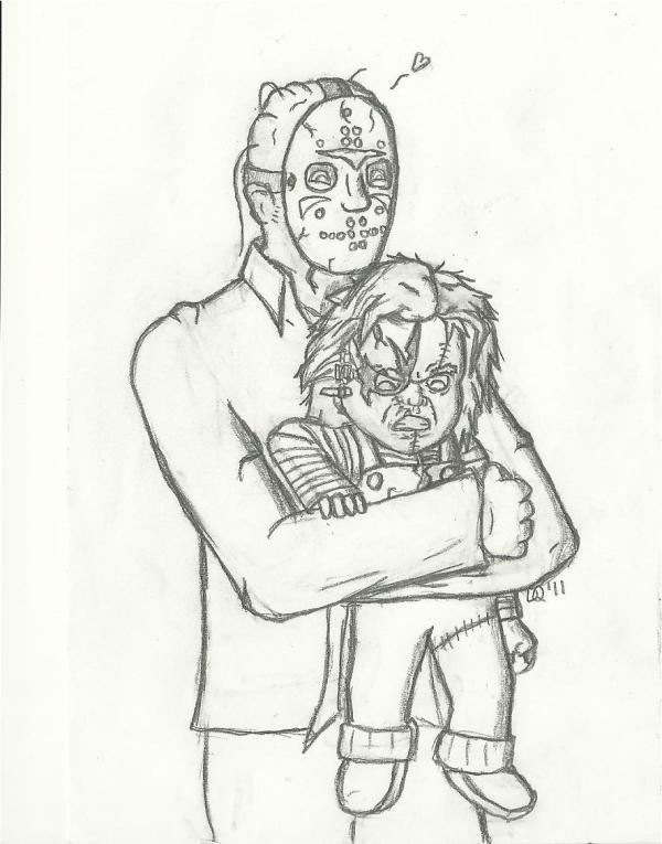 Jason Vs Chucky By Paranoid Power On DeviantArt