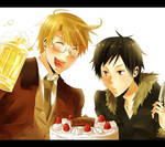 APH x DRRR- Happy Birthday