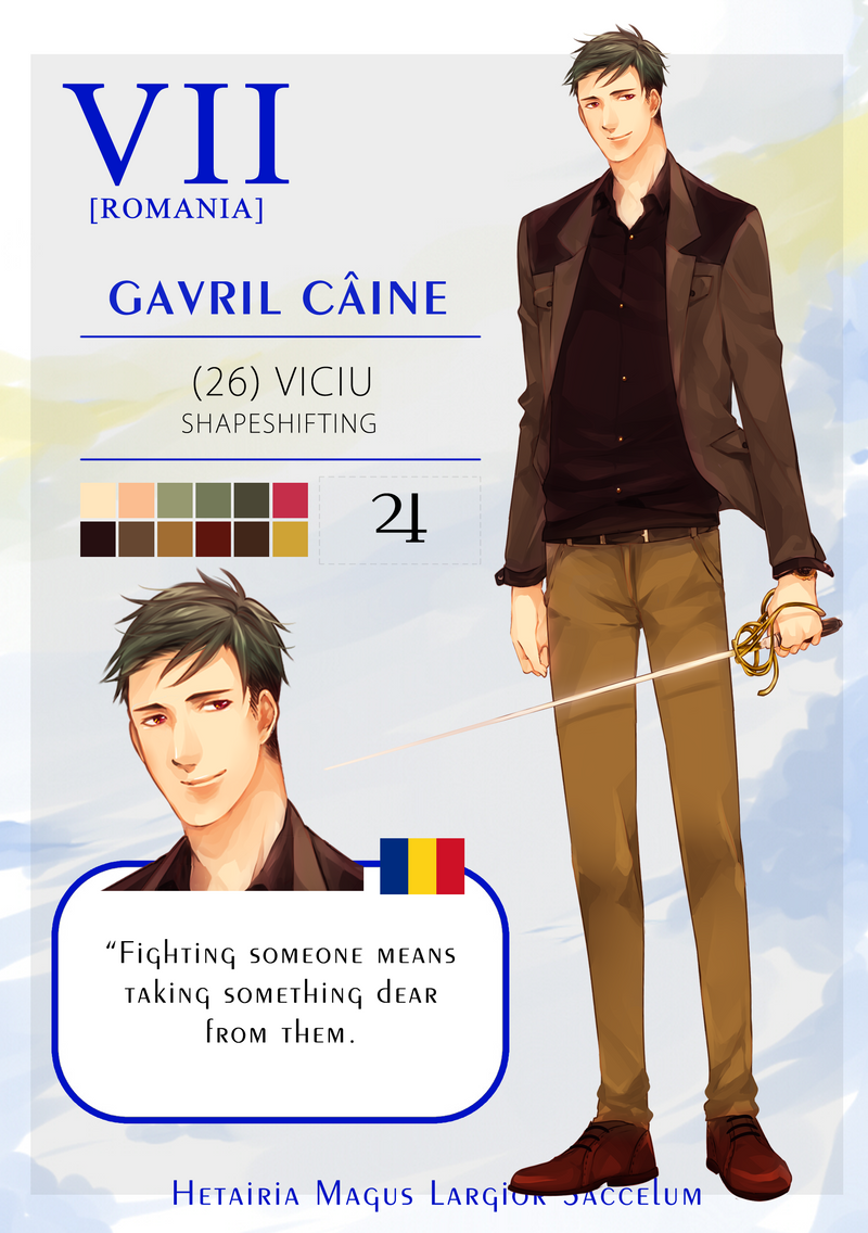 HMLS - Gavril Caine [Updated] by ohprocrastinator