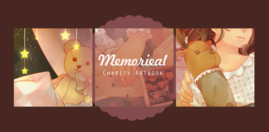 35dc3441 Memorieal - Charity Artbook Preview by ohprocrastinator