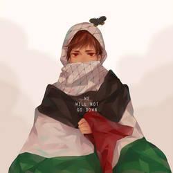 Pray for Gaza by ohprocrastinator