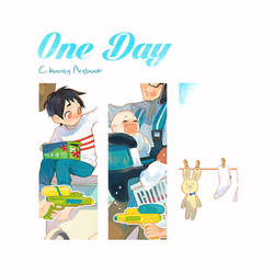 One Day Charity Artbook Preview