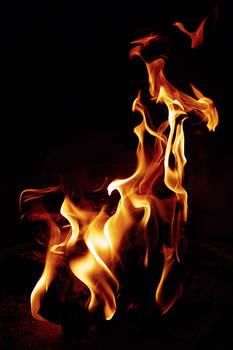 Fire is a dancer