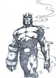 Hellboy by komus