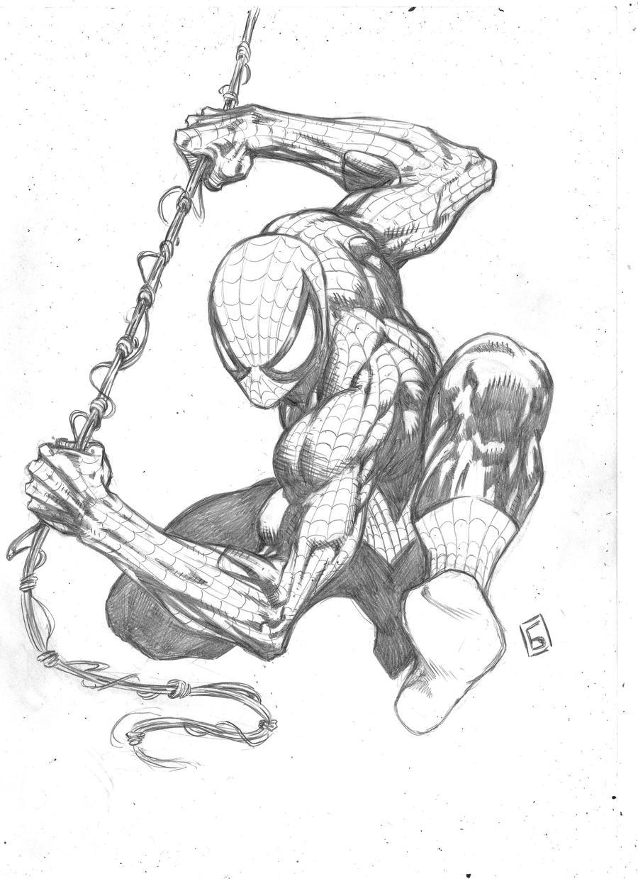 Classic Spiderman by komus on DeviantArt