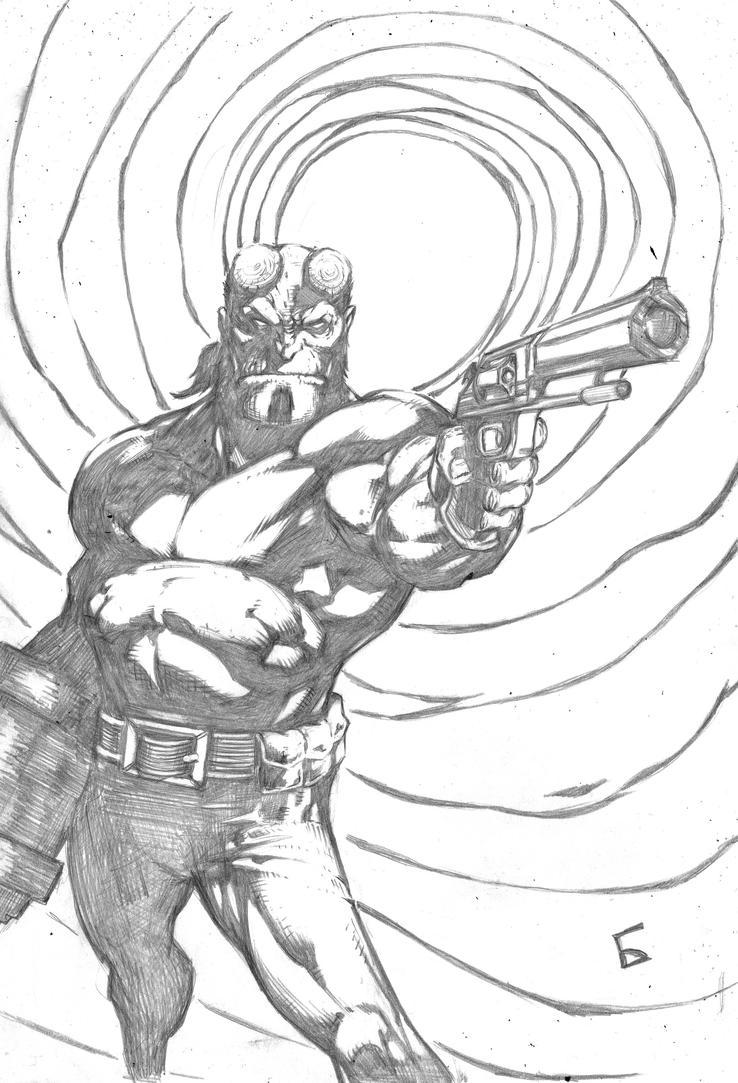 Hellboyo by komus