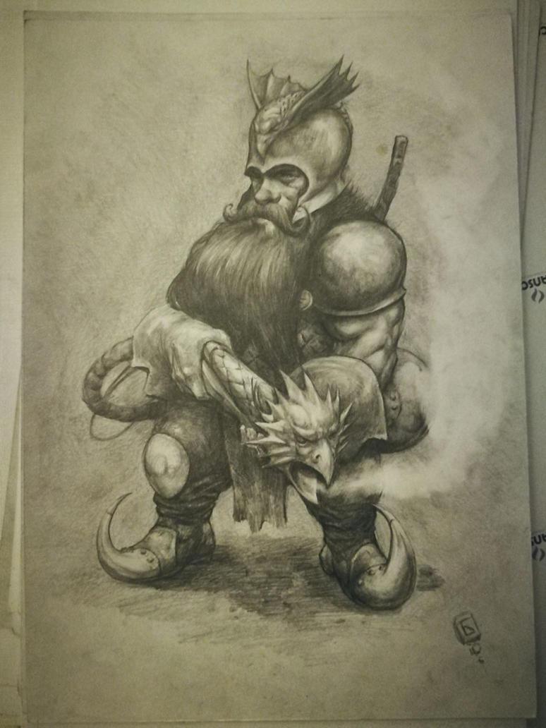 Flame Gunner Dwarf by komus