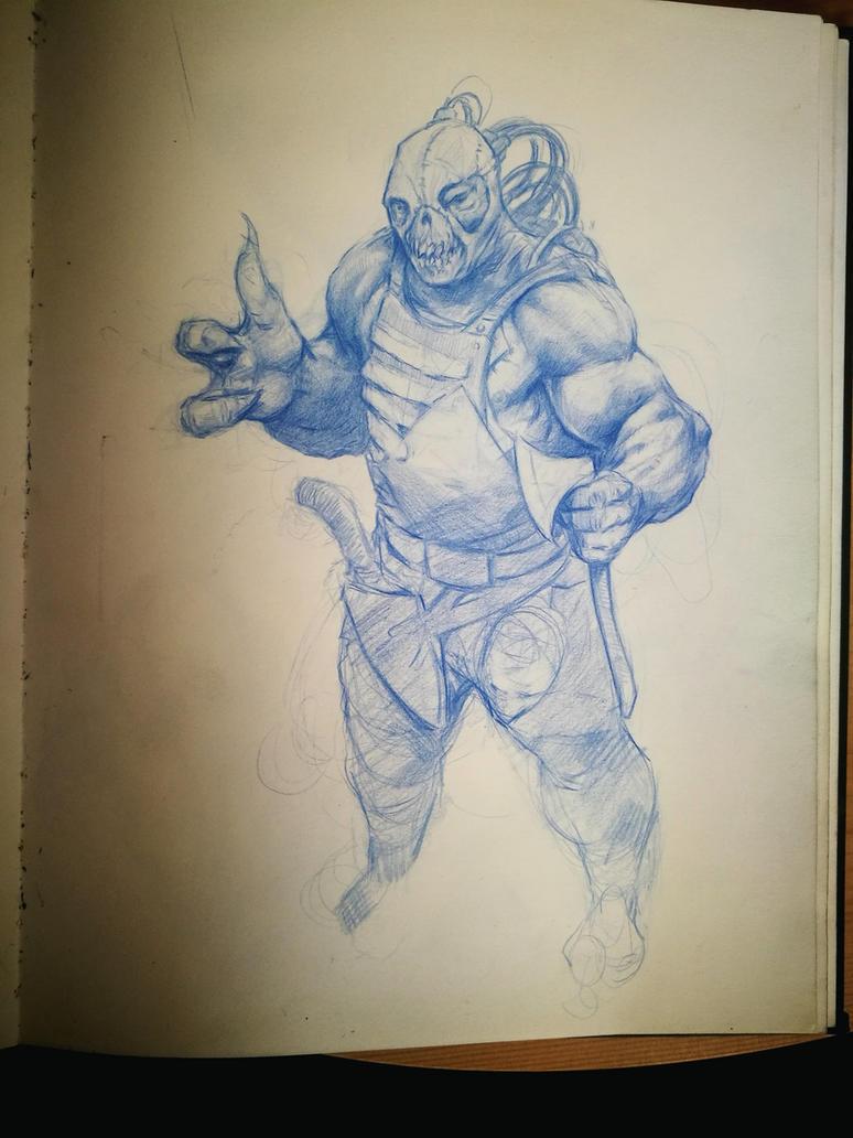 Mutant sketch by komus