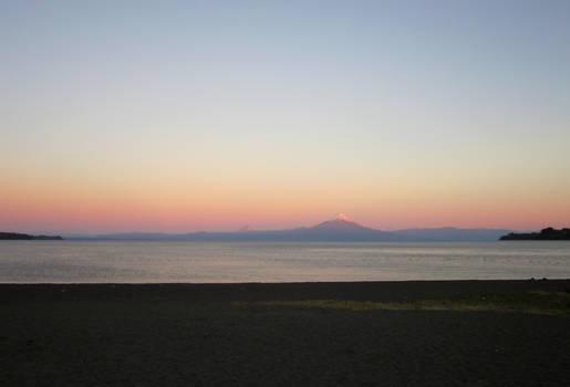 Sunset in Frutillar