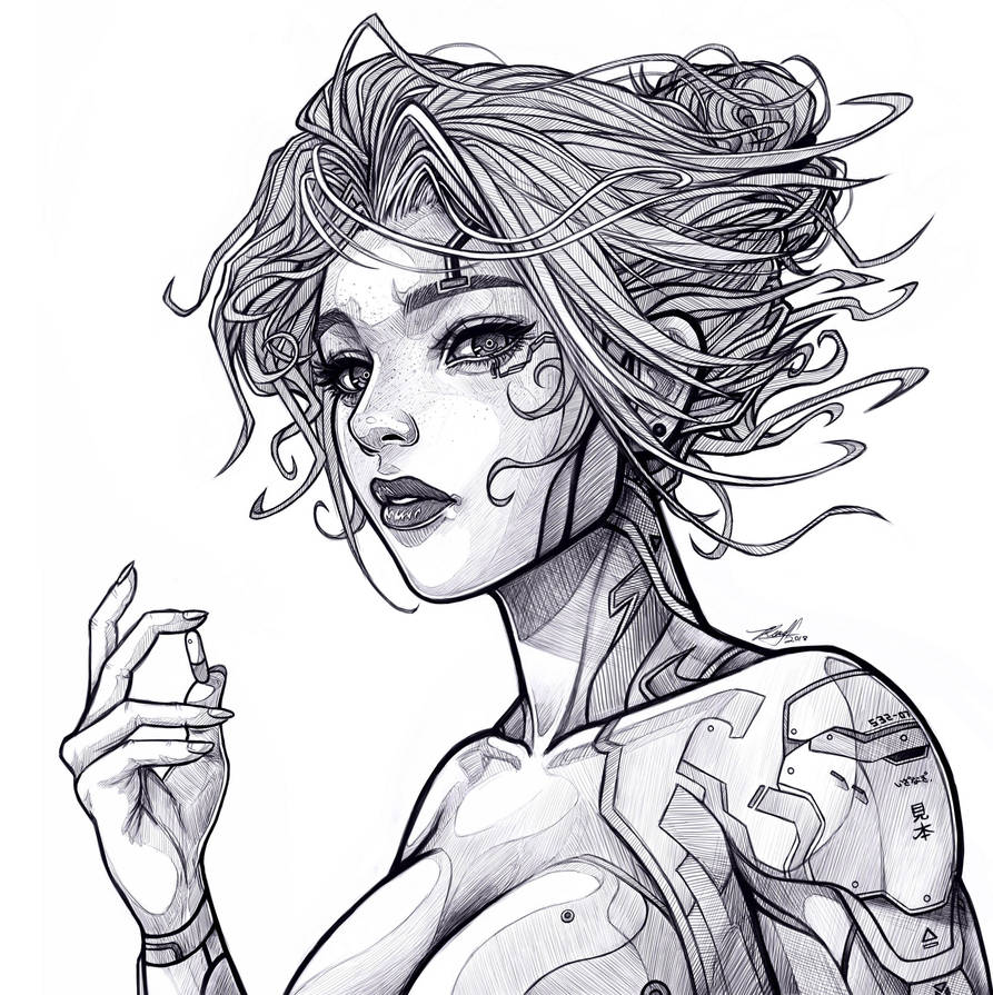 .:: Comm: Cyberpunk ::. by Takamin