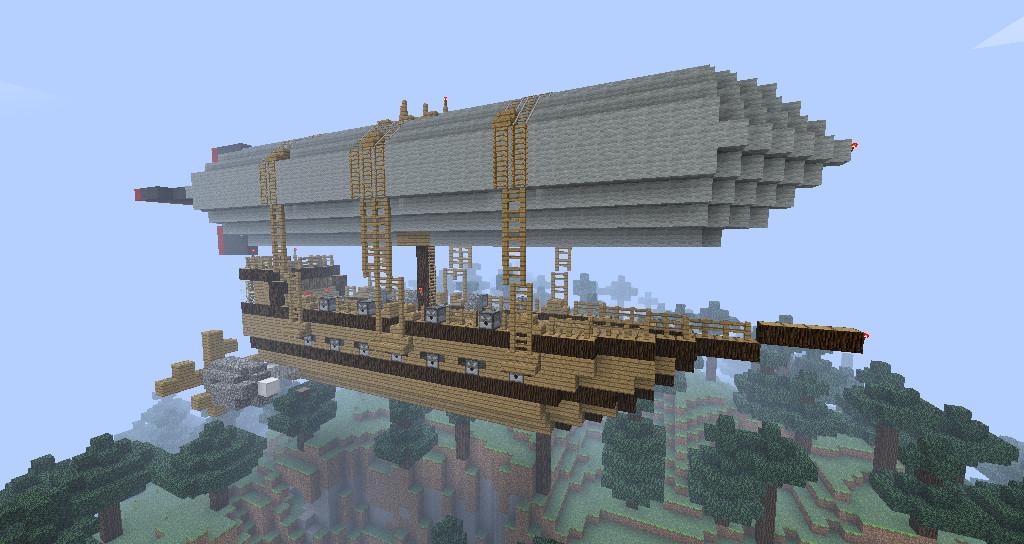 Minecraft Airship Blueprints   www.imgkid.com - The Image ...