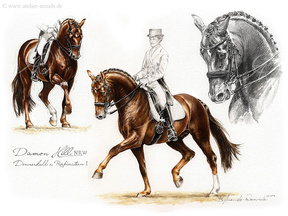 Berühmte Rennpferde