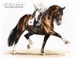 Dressage Horse Valegro KWPN by AtelierArends