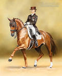 Dressage Horse Blind-Date and V. Max-Theurer