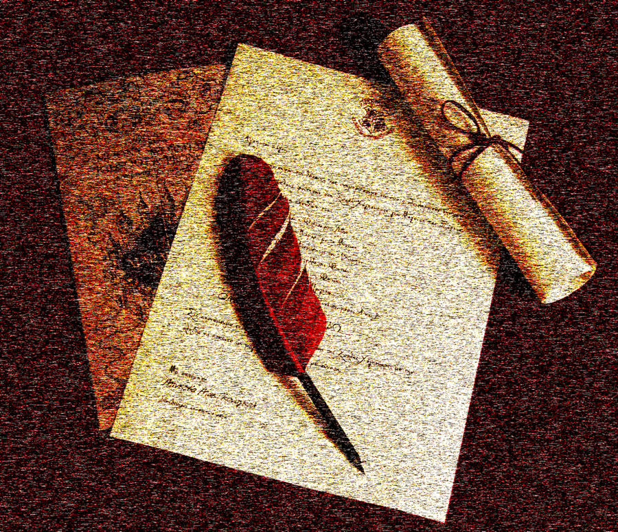 Quill and Parchment by MyrtoGkl on DeviantArt