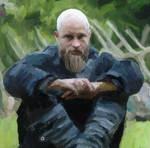 Ragnar Lothbrok - Vikings- Painitng - 3