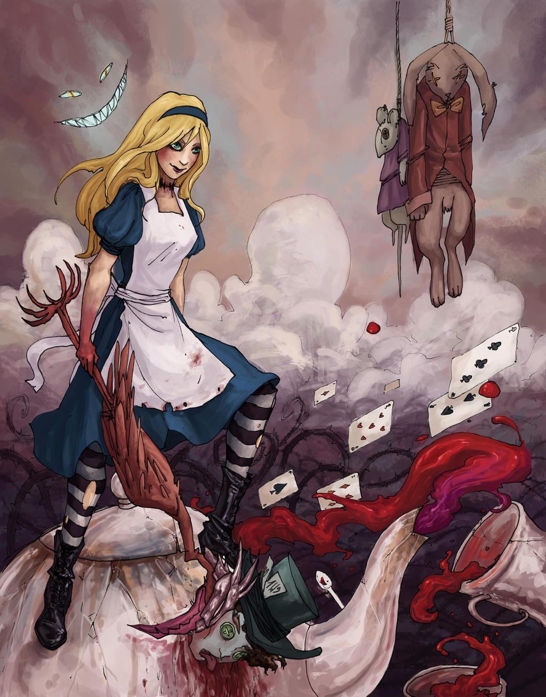 Alice In Wonderland  Concept Artist Paintings