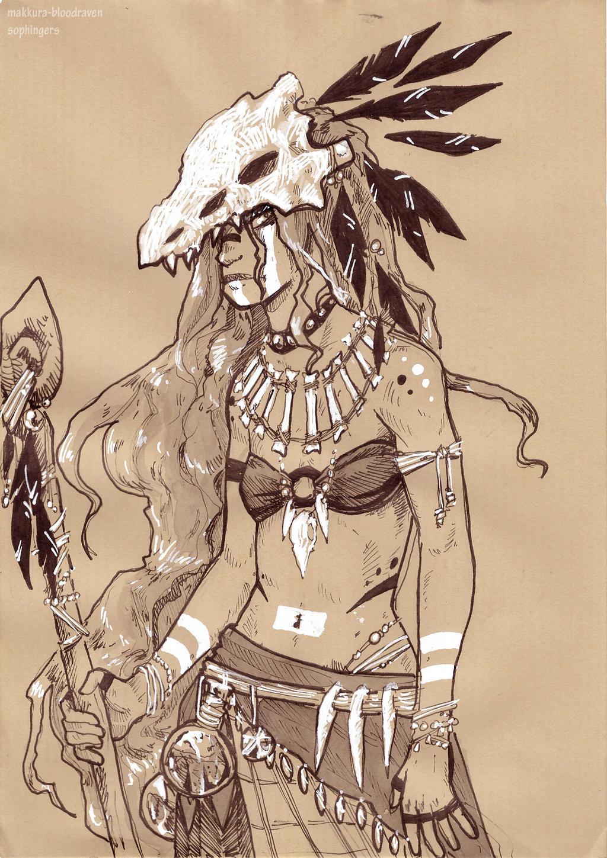 Inktober 10 by Makkura-BloodRaven