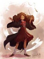 Hermione Granger by Sophingers