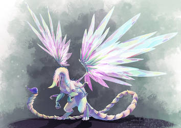 Dragon Opaleye HarryPotter by Sophingers