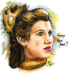 Happy New Year Leia 2021
