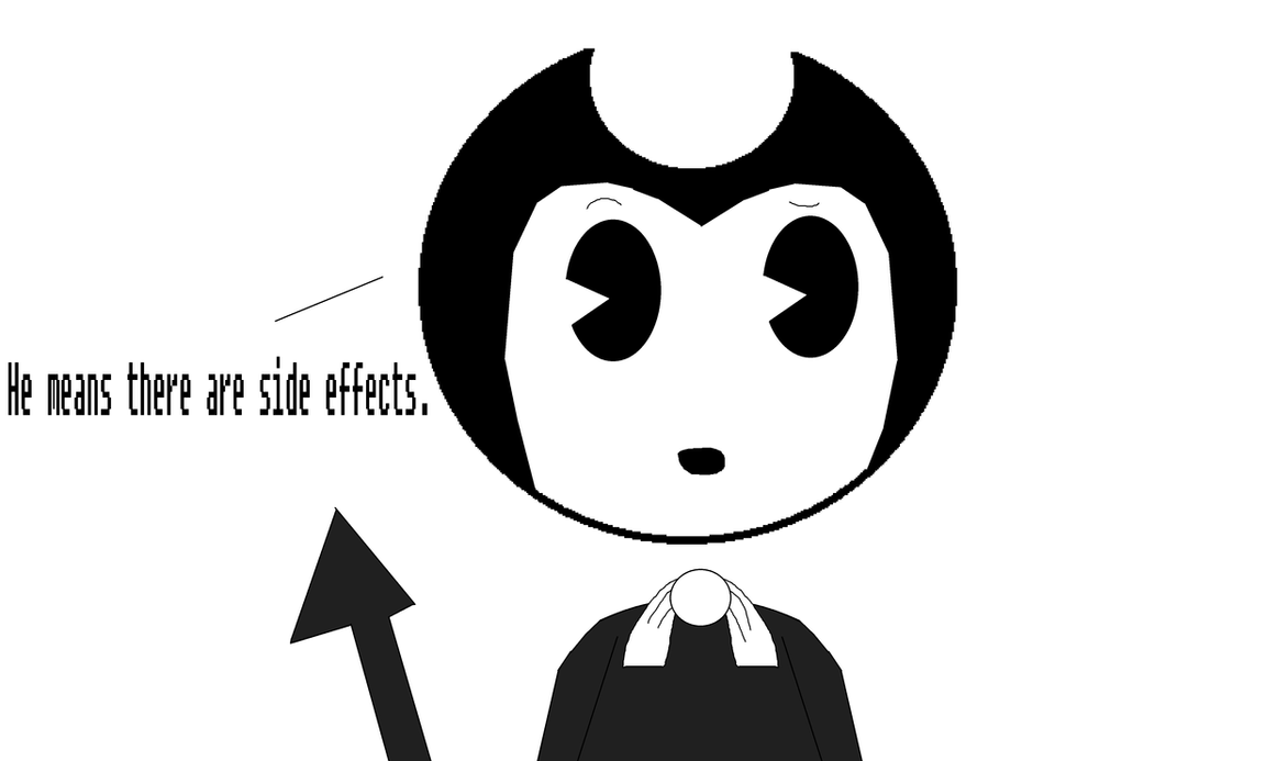 Bendy and the chocolate factory- Blueberry Sans 3 by Nightmarecake4268