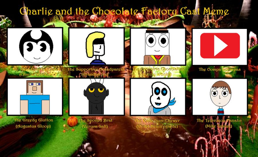 CATCF- cast meme by Nightmarecake4268