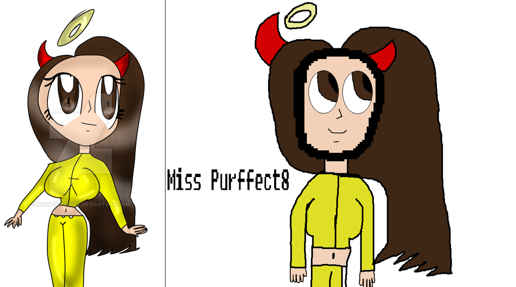 My friends as Lets Players- Misspurffect8 by Nightmarecake4268