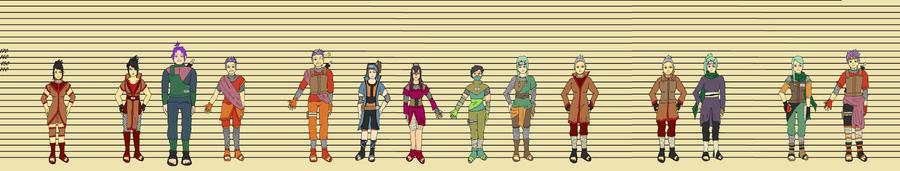 Naruto OC Timeline by Seriiko