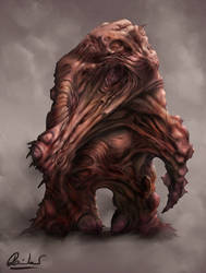 Organic creature by pascalr