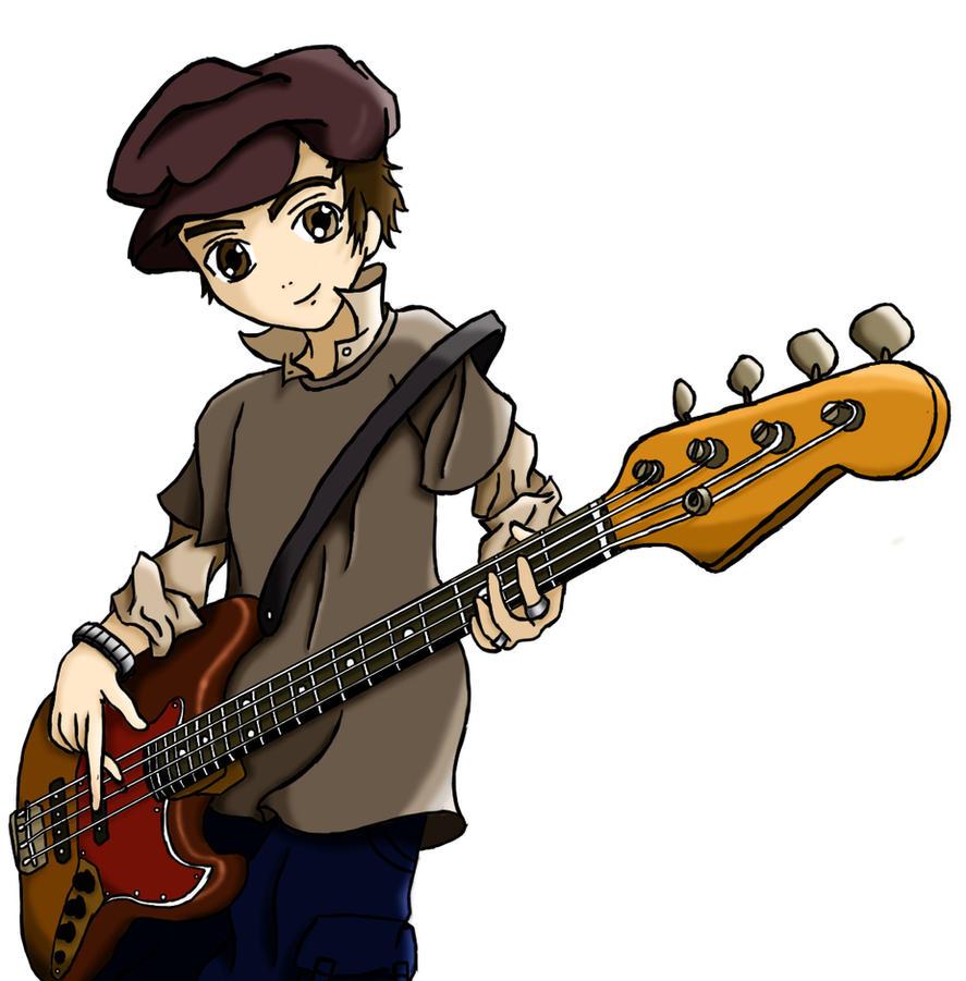 Bass Player By KyraSan