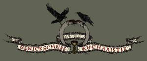 Genickschuss Eucharistie Logo