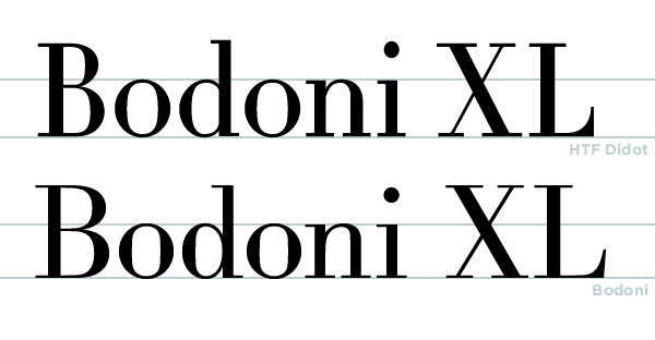 History of Type - Didot and Bodoni by MartinSilvertant