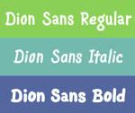 Dion Sans Pro