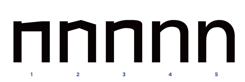 How to design a typeface - Figure 12 by MartinSilvertant
