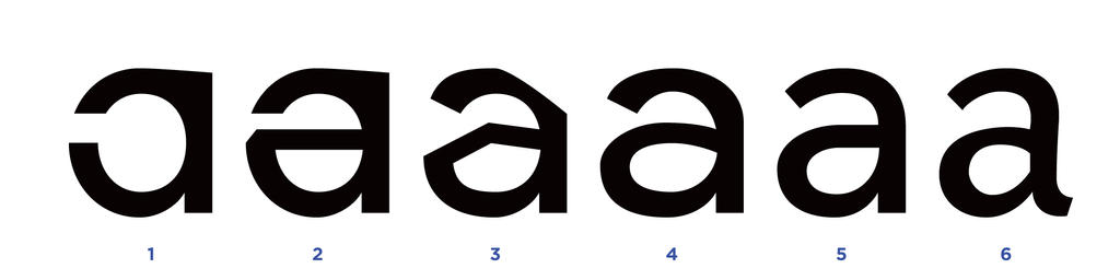 How to design a typeface - Figure 17 by MartinSilvertant