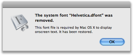 Helvetica-Warning by MartinSilvertant